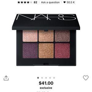 Nars 6 colours eyeshadow palette